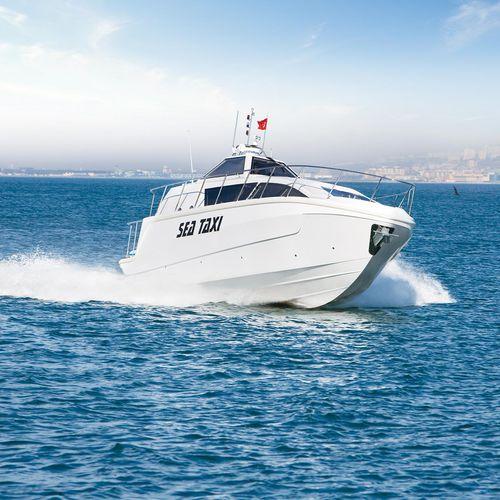 barco profissional táxi aquático / com motor de centro