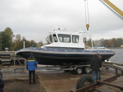 barco de trabalho / a diesel