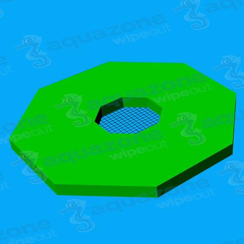 equipamento de diversão aquática colchão / plataforma / ilha / pista de corrida