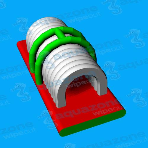 equipamento de diversão aquática colchão
