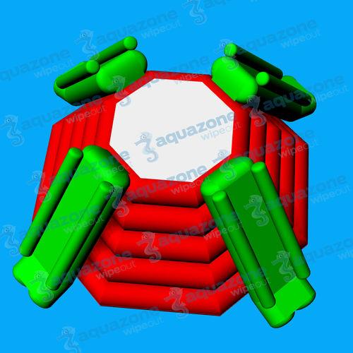equipamento de diversão aquática parque / escorregador / plataforma / pirâmide