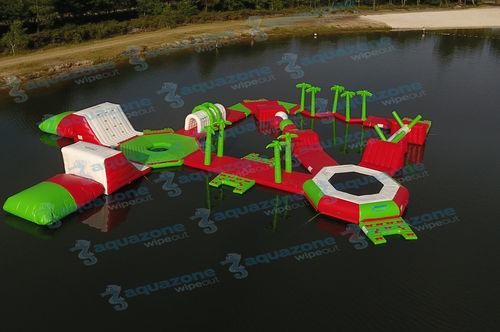 equipamento de diversão aquática parque / inflável / flutuante