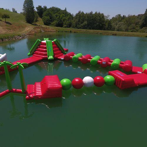 equipamento de diversão aquática boia / trave de equilíbrio / pista de corrida / bolha