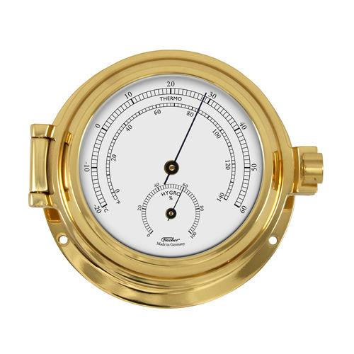 termômetro náutico / analógico / higrômetro