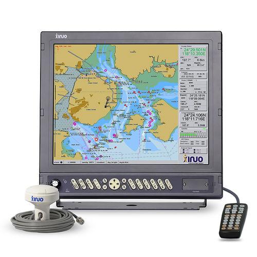 leitor de cartões / bússola / GPS / náutico
