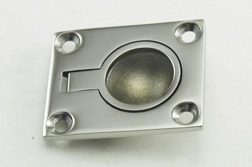 puxador para barco / para montagem nivelada / em aço inox