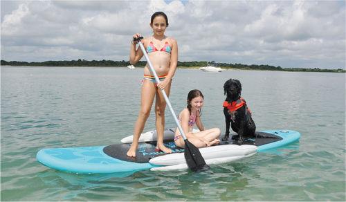 prancha de stand-up paddle allround / inflável
