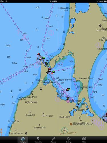 software de navegação, posicionamento e aquisição de dados / de monitoramento / AIS / de provas de conhecimentos de navegação para pilotos de barra