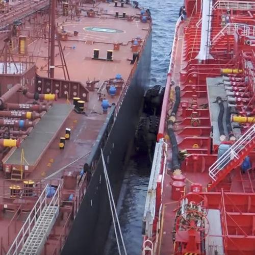 defensa para navio / Yokohama / inflável / pneumática