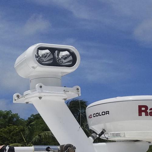 projetor para área externa / para barco / para iate / HID