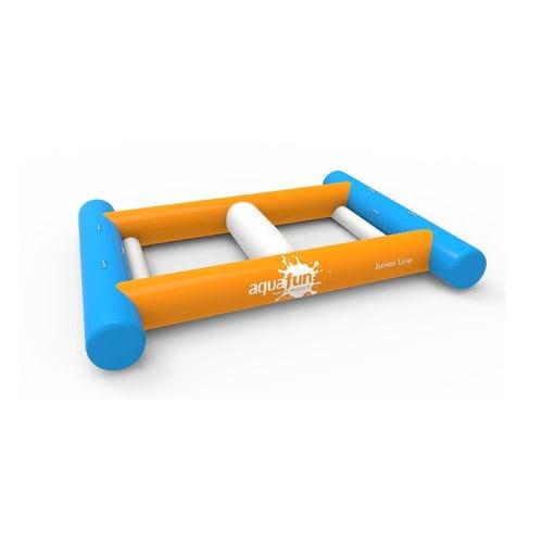 equipamento de diversão aquática trave de equilíbrio
