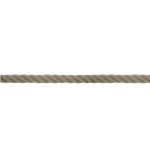 cabo de amarração / torcido / para veleiro / alma em poliéster
