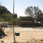 sistema de limpeza de telas para aquicultura