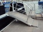 passarela de embarque para navio / para barcaça / para terminal / manual