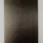 tecido compósito de fibra de carbono / tecido / balanceado