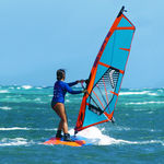 prancha de windsurf de iniciação
