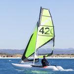catamarã esportivo inflável / individual / múltiplo / desmontável