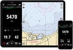 software de monitoramento / para barco / para smartphone / para motor