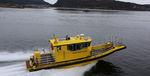 barco profissional barco de busca e salvamento / com motor de centro / em alumínio