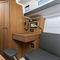 monocasco / de cruzeiro costeiro / de popa aberta / 2 cabines