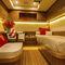 super iate à vela de luxo de cruzeiro / com deck saloon / em carbono / 5 cabines