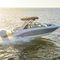 deck-boat com motor de popa
