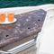 deck-boat com motor de centro