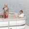 pontoon boat com motor de popa