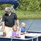 pontoon boat com motor de popa / de pesca esportiva / máx. 10 pessoas