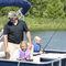 pontoon boat com motor de popa / de pesca esportiva / máx. 9 pessoas