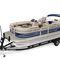 pontoon boat com motor de popa / tri-tube / de pesca esportiva / máx. 10 pessoas