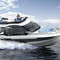 lancha Express Cruiser com motor de centro / bimotor / com hard-top / com flybridge