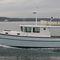 trawler com motor de centro / sob medida