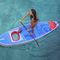 prancha de stand-up paddle allround / inflável / com visão subaquática