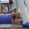 equipamento de diversão aquática baloiço