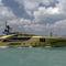 mega-iate de cruzeiro / com casa do leme / com flybridge / em alumínio