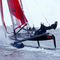catamarã esportivo para regata costeira
