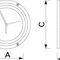 indicador para barco / de maré / analógico