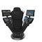 assento de operador / para navio / com posto de comando integrado / com encosto alto