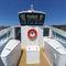 barco de passageiros / com motor de centro / a diesel / em alumínio