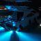 iluminação subaquática para barco