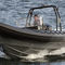 barco inflável com motor de popa / semirrígido / com console central / offshore