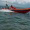 barco profissional barco utilitário / com motor de popa / barco inflável semirrígido