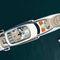 mega-iate de cruzeiro / com casa de leme elevada / em alumínio / 8 cabines