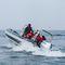 barco profissional barco-patrulha / barco de trabalho / com motor de popa / em alumínio