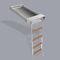 escada para barco / retrátil / de banhos / para plataforma