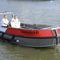 barco de trabalho / com motor de centro / a diesel / em alumínio