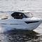 lancha Cabin Cruiser com motor de popa / com hard-top / com casa do leme / de pesca esportiva