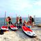 prancha de stand-up paddle allround / inflável / para 1 a 3 pessoas / para iniciante
