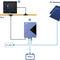 controlador de carga para bateria / painel solar / para barco